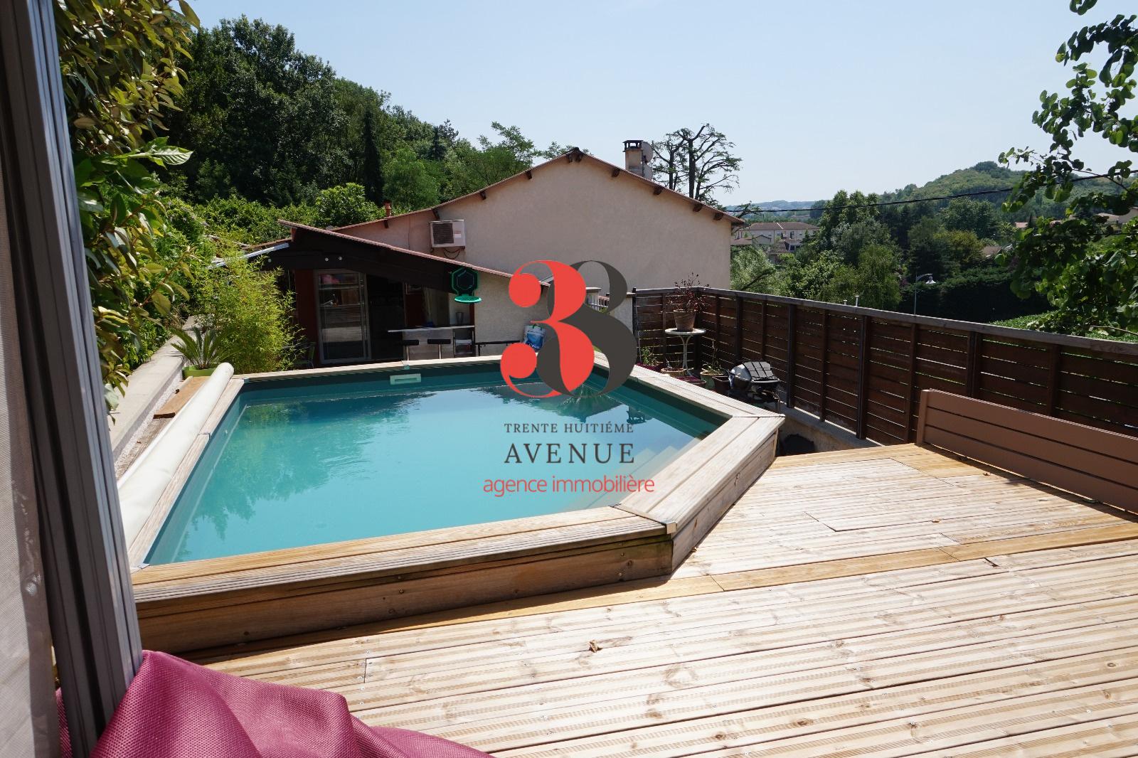 Vente jardin 38200 maison 130 m for Jardin 38200